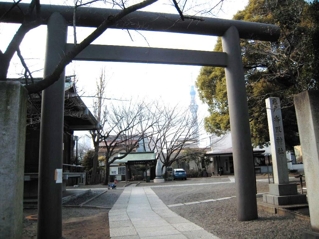 亀戸天神社・亀戸香取神社: 留 ...
